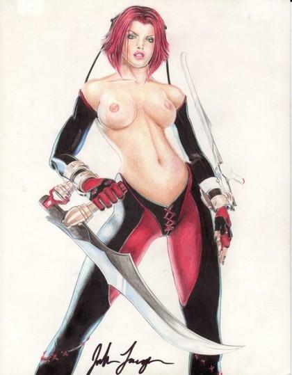 Bloodrayne 3 Lesbian